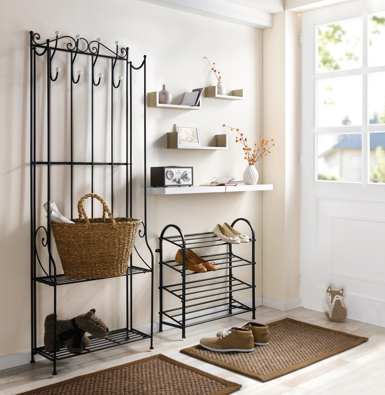 metall garderobe haloring. Black Bedroom Furniture Sets. Home Design Ideas